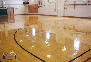 Gym Floor Finish Oil Base High Solids Wood Floor Finish