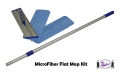 Micropower MicroFiber Flat Mop Cleaning Kit