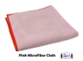 MicroFiber Cleaning Cloth (Pink)