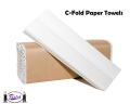 C-Fold Paper Towels (White)