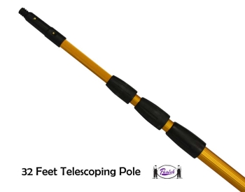 Telescopic Window Cleaning Poles Clean Windows Up To 30 Feet