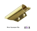 Brass Squeegee Clips