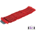 Damp Mop Head, Tab Style (15 mm Red)
