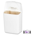 Sanitary Napkin Receptacle (White)