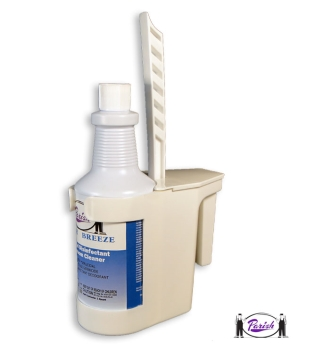 Toilet Bowl Swab Caddy For Toilet Bowl Urinal Cleaning