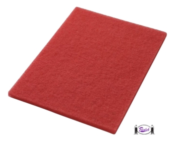 Red Floor Pads For Square Strip Square Scrub Machines