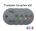 Twister Diamond Pads (starter kit)