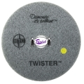 Twister Diamond Polishing Pads, Yellow (1500 grit)