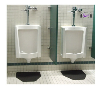 Urinal Mat Floor Protection For The Mens Restroom