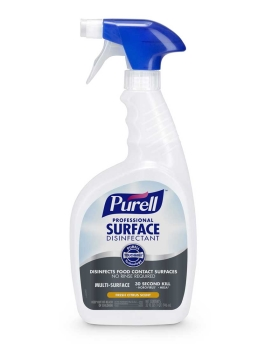 Fast Acting Disinfectant Spray - 30 Second Kill Time