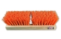 Deck Scrub Brush with Wood Block