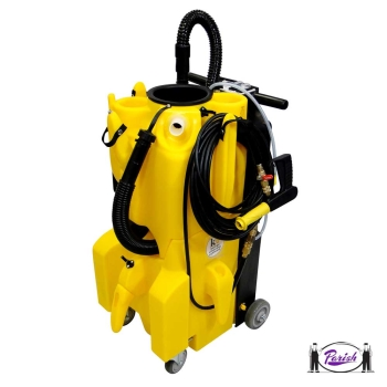 Compact restroom cleaning machine touch free cleaning for Bathroom cleaning machine