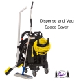 Restaurant Floor Cleaning Machine (Space Saver)