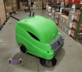 Battery Powered Parking Lot Sweeper, 36""