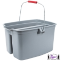 Double Compartment Cleaning Bucket (2628)
