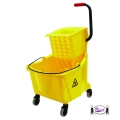 Mop Bucket Combo, 35 qt. with Side Press Wringer