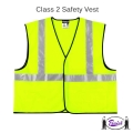Safety Vest - Lime Green (Large - 4X size)