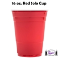 Plastic Cups - Solo (Red)