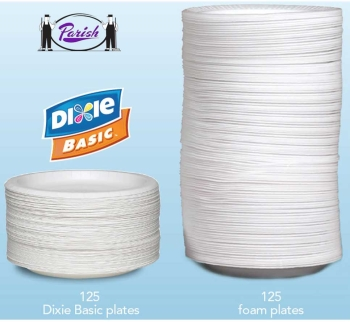 Coated Paper Plates - Clay Coated by Dixie