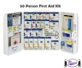 Cabinet Style First Aid Kit (50 person)
