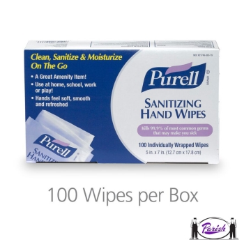 Purell Hand Sanitizing Wipes, Wrapped (9022)