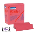 X80 Heavy Duty Red Wipers (Folded & Roll)