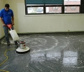 Floor Stripping & Re-finishing