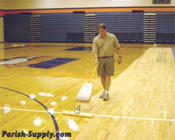 How To Refinsh A Gym Floor With Oil Base Finish