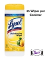 Disinfecting Wipes, Lysol