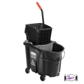 Wavebrake Mop Bucket Kit (Black)