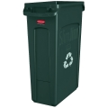 Slim Jim Recycling Container (Green)