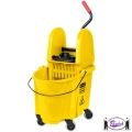 Down Press Mop Bucket & Wringer (7577)