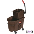 Wavebrake Mop Bucket Kit (Brown)