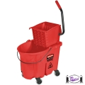 Wavebrake Mop Bucket Kit (Red)
