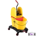 Down Press Mop Wringer & Bucket Dolly (7677)