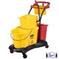 Cleaning Trolley & Mop Bucket (7780)