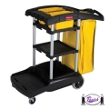 High Capacity Cleaning Cart (9T72)