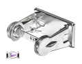 Single Roll Tissue Dispenser (chrome)